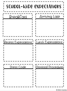Classroom Management Foldables & Notebook Activities #BTS18 {Editable}