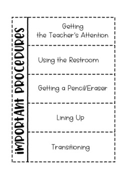 Classroom Management Foldables & Notebook Activities #BTS18 {Editable}
