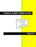 CLASSROOM MANAGEMENT PUNCH CARDS - EMOJI'S (VER.2)