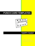 CLASSROOM MANAGEMENT PUNCH CARDS - HAPPY FACES (VER.2)