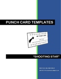 CLASSROOM MANAGEMENT PUNCH CARDS - SHOOTING STAR (VER. 2)