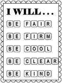 Freebie: Classroom Management Inspirational Teacher Poster