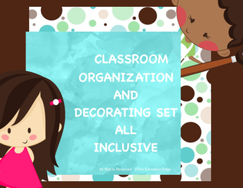 Classroom Decorating Set