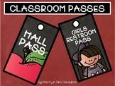 CLASSROOM PASSES