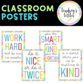 CLASSROOM POSTERS BRIGHT