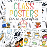 CLASSROOM POSTERS FOR COVID SAFETY (HAND WASHING, MASKS, G
