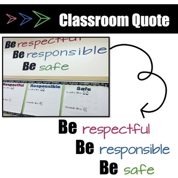 CLASSROOM QUOTE Norms/Rules