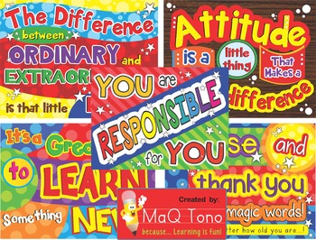 CLASSROOM QUOTES BUNDLE