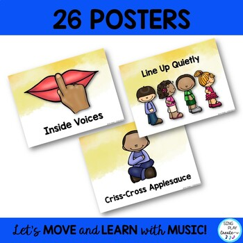 BACK TO SCHOOL FREEBIE: Manners and Classroom Rules Posters