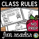 CLASSROOM RULES WITH VISUALS BOOK (FIRST WEEK OF SCHOOL KINDERGARTEN) #ausbts18
