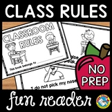 CLASSROOM RULES WITH VISUALS BOOK (FIRST WEEK OF SCHOOL KI
