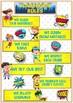 CLASSROOM RULES-  Comic- Superhero Theme Classroom Decor