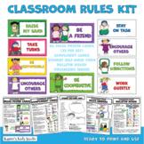 CLASSROOM RULES Materials Kit (Karen's Kids Printables)
