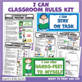 CLASSROOM RULES Materials Kit with I CAN Language (Karen's