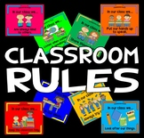 CLASSROOM RULES POSTERS TEACHING RESOURCES BEHAVIOUR EARLY YEARS KS 1-2