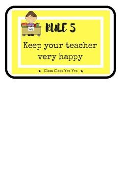 CLASSROOM RULES WHOLE BRAIN TEACHING