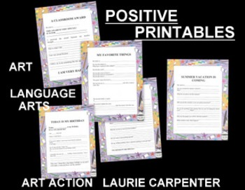 "CLASSROOM LanguageART SEATWORK - ""POSITIVE PRINTABLES"""