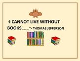 CLASSROOM SIGN: BOOKS