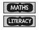 CLASSROOM SUBJECT LABELS - GREY