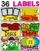 CLASSROOM SUPPLY LABELS: EDITABLE