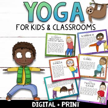classroom yoga mindfulness yoga poses for kids  calm