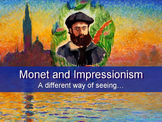 CLAUDE MONET IMPRESSIONISM POWERPOINT