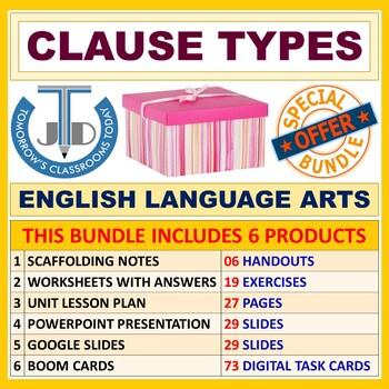 CLAUSE TYPES: BUNDLE