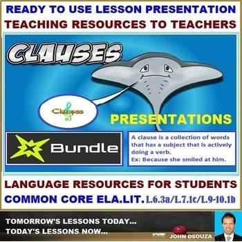CLAUSES PRESENTATIONS: BUNDLE