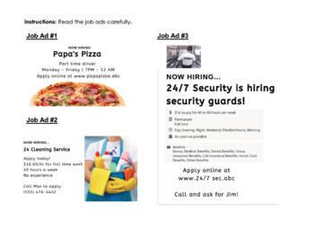 original-5217856-2 Job Application Form Esl Lesson on