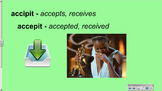 CLC Stage 9 - Vocabulary Slideshow
