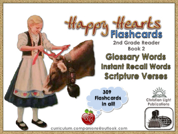CLE Happy Hearts - Second Grade Reader Book 2 Flashcards