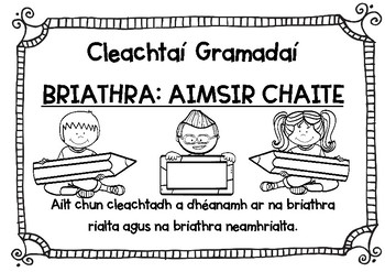 3rd Grade Gaeilge Activities Resources Lesson Plans Teachers Pay