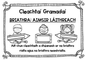 Cleachtai Gramadai Briathra Aimsir Laithreach By