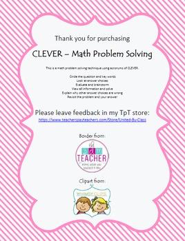 CLEVER - Math Problem Solving