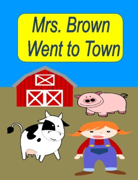 CLICK, CLACK, MOO!  COWS THAT TYPE!  --  A Reader's Theater with Singing!
