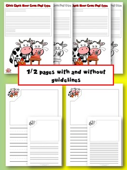CLICK, CLACK, MOO: Cows that type - Draw and write activity templates