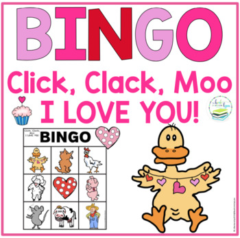 CLICK, CLACK, MOO I LOVE YOU! BINGO