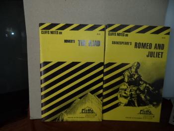 CLIFFS NOTES   ISBN 0-8220-0074-1  0-8220-0645-6 (SET OF 2)