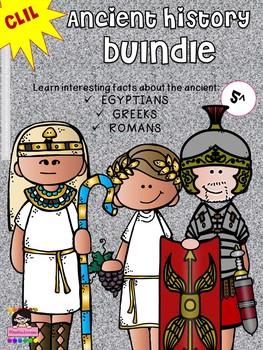 CLIL - ANCIENT HISTORY BUNDLE