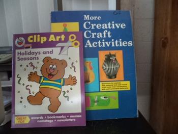 CLIP ART   CRAFT ACTIVITIES                     SET OF 2