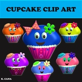 Cupcake Cuties Clip Art