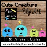CLIP ART- Cute Creatures