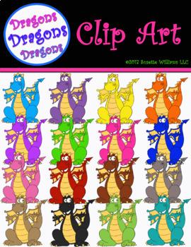 CLIP ART: Dragons, Dragons, Dragons