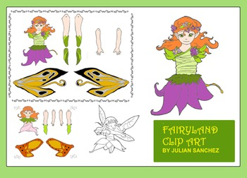 "CLIP ART ""FAIRYLAND"" (for commercial and personal use)"