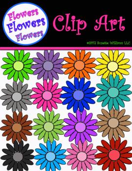 CLIP ART: Flowers, Flowers, Flowers