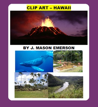 CLIP ART - HAWAII (72 public domain images)