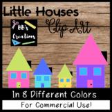 CLIP ART- Little Houses