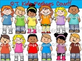 CLIP ART -  QT~Kids... Feelings Matter!  - Personal and Commercial use