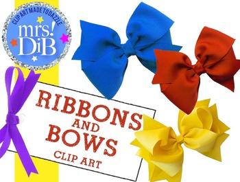 CLIP ART - Ribbons and Bows !