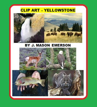 CLIP ART - YELLOWSTONE (54 public domain images)